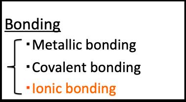 イオン結合